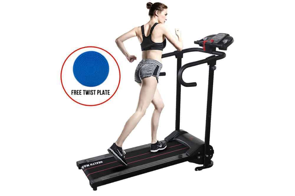 H.B.S Portable Folding Electric Running machine Motorized Treadmill Fitness Exercise Home Gym Review