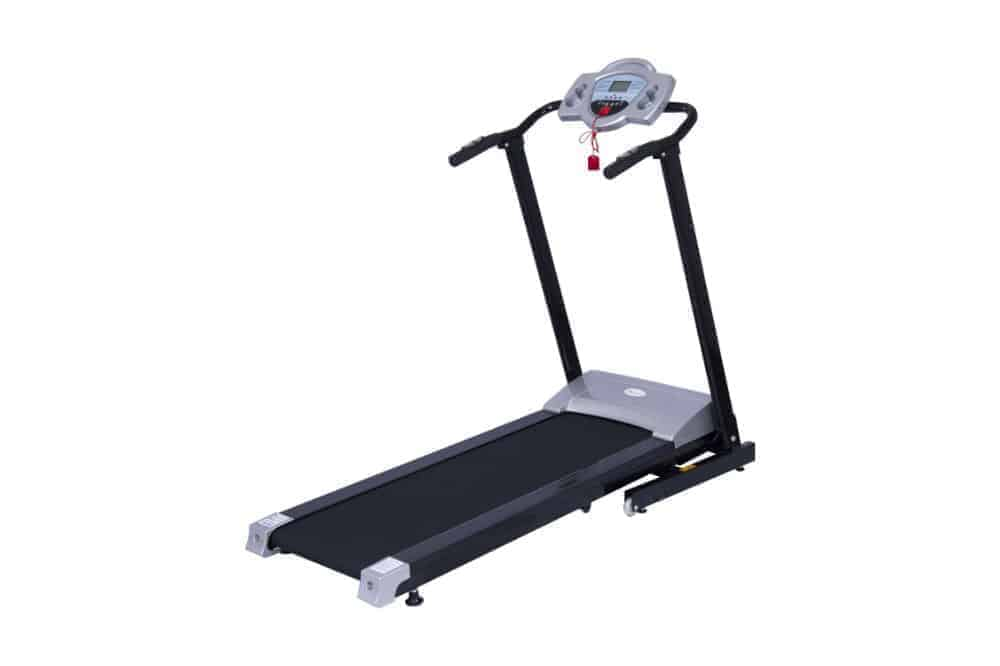 Soozier 1100W Portable Motorized Folding Treadmill Fitness Running Machine with LCD Display Review